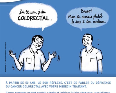 Mobilisation contre le cancer colorectal : Mars Bleu 2015